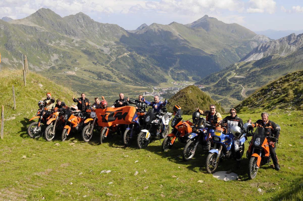 Orangemountain Adventurebike Gipfeltreffen