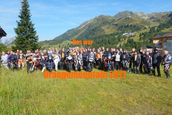 Orangemountain Adventurebike Gipfeltreffen - Rückblick 2017